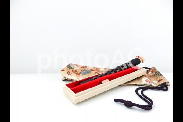 雅楽の楽器(篳篥)の写真