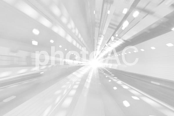 白のスピード感を感じさせる抽象背景素材テクスチャの写真