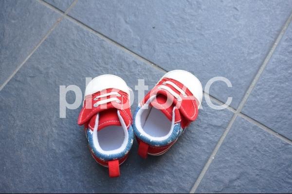 子供の靴1の写真