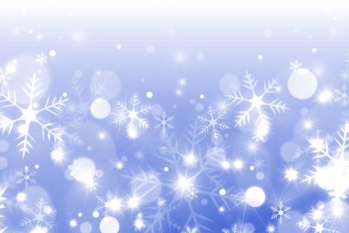 雪舞う 冬のテクスチャの写真