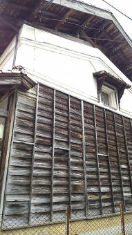 日本 古式 倉庫 昔 古い 木造