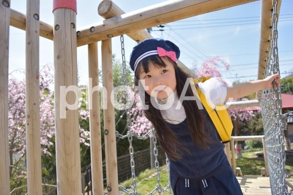 園児の写真