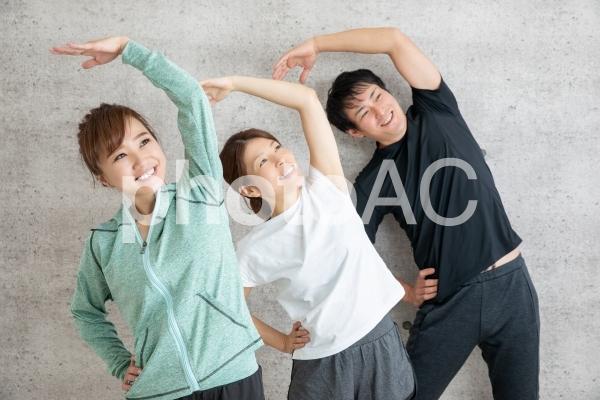 ラジオ体操の写真
