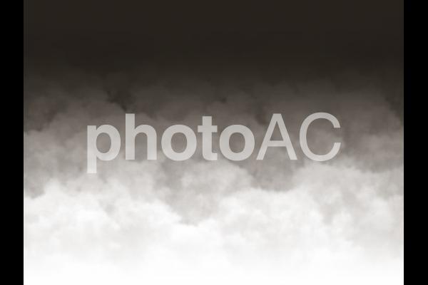 黒い雲の写真