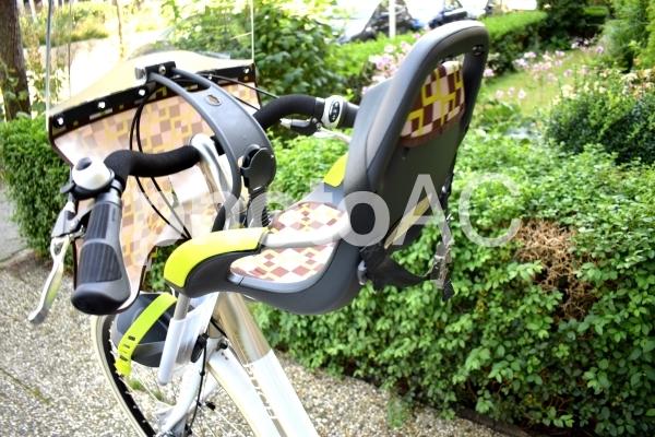 自転車子供用シートの写真
