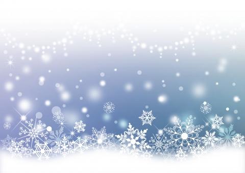 クリスマス_淡い背景の写真
