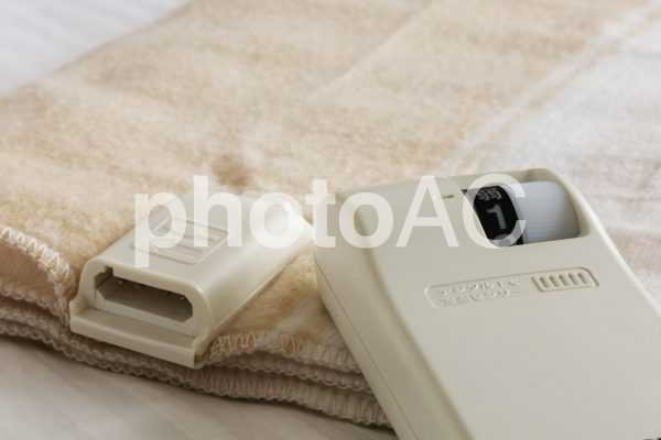 電気毛布の写真