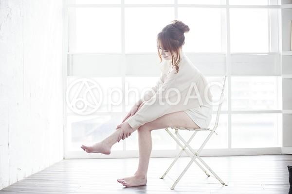 マッサージする女性1の写真