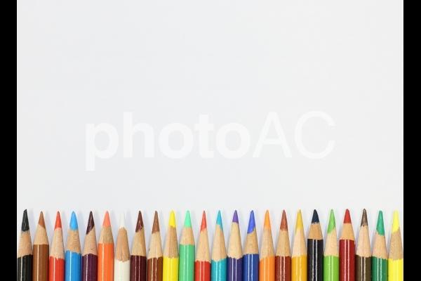 色鉛筆のテクスチャの写真