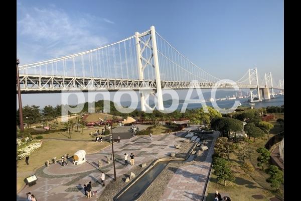 関門橋2の写真