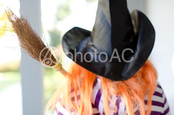 魔女の仮装3の写真
