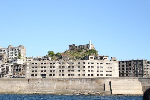 長崎 軍艦島 廃墟 観光 世界遺産 旅行 心霊スポット 歴史