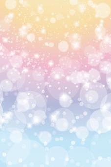 ファンタジーの輝き抽象背景素材テクスチャ-縦長の写真