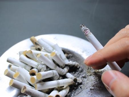 喫煙の写真