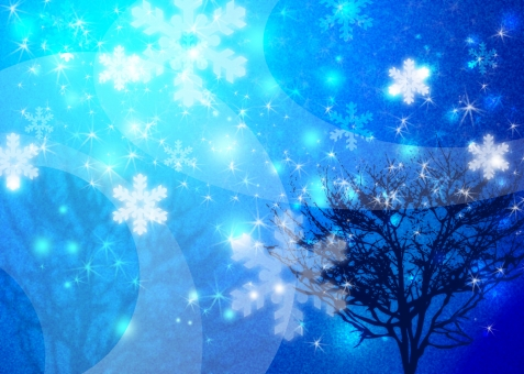 snow winter 冬季 冬期 冬休み 12月 十二月 雪 結晶 青 ブルー blue キラキラ 夜景 冬景色 雪景色 クリスマス xマス イルミネーション 夜空 テクスチャー テクスチャ texture background バックグラウンド バック 背景 背景素材 ファンタジー クリスマスイブ