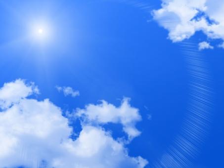 「青空 太陽 フリー素材」の画像検索結果