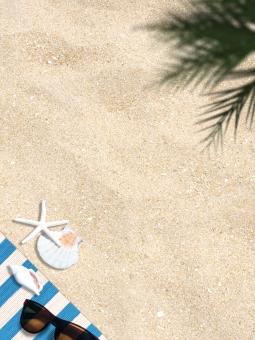 背景 背景素材 バックグラウンド ビーチ 砂浜 夏 サマー summer 真夏 海水浴 海 浜辺 海辺 マリン 貝 ヒトデ サングラス 貝殻 パームツリー 植物 トロピカル リゾート 季節 四季 シーズン レジャーシート レジャー 休日 ビーチリゾート 日焼け 砂 サンドビーチ メガネ テキスト テキストスペース フレーム ストライプ ボーダー 浜 アイランド 日当たり 日光浴 sun サンサン 燦々 降り注ぐ 眩しい まぶしい ギラギラ 暑い 熱い
