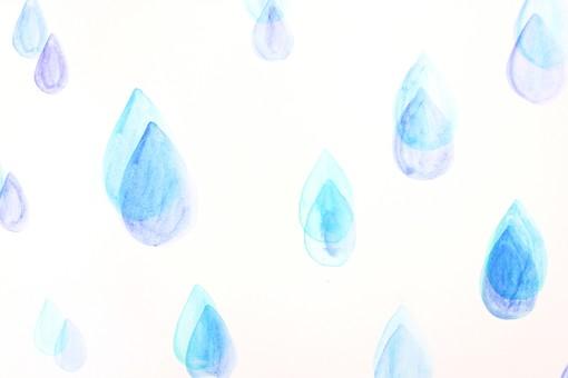 水滴しずくのシルエット 無料のaipng白黒シルエットイラスト