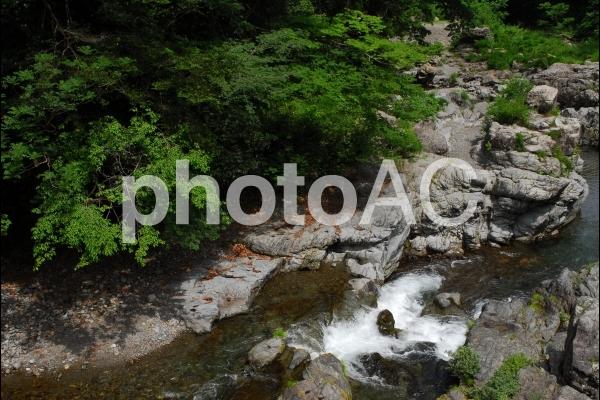 秋川渓谷の写真