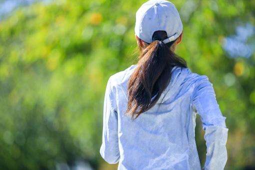 スポーツ・女性の写真