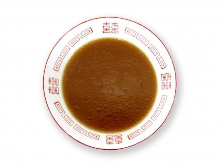 ラーメン鉢 スープだけ 麺なし 豚骨しょうゆ・味噌豚骨等【濃茶系】の写真