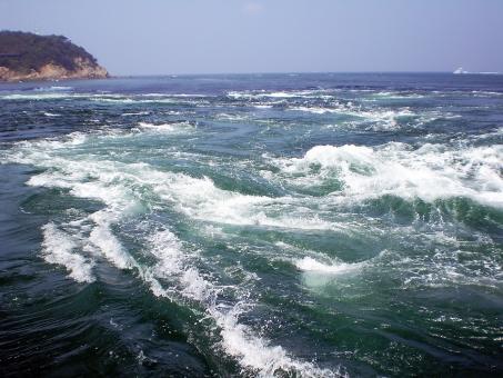 うず潮 渦潮 うずしお 鳴門 なると 海 波 うず