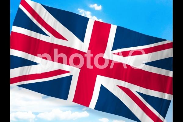 イギリス国旗の写真
