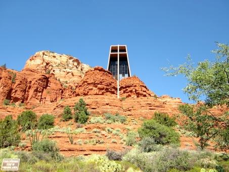 空 自然 セドナ 大地 パワースポット 植物 アリゾナ アメリカ 教会
