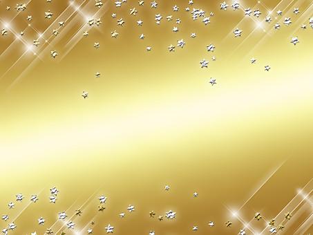 テクスチャ テクスチャー バックグラウンド 背景素材 生地 アップ 模様 正面 布 ポスター グラフィック ポストカード 柄 デザイン 紙 素材 絵 ポップ 光 輝き ビーズ ドット 泡 弾ける ゴールド 金 粒 シルバー 銀 星 スター