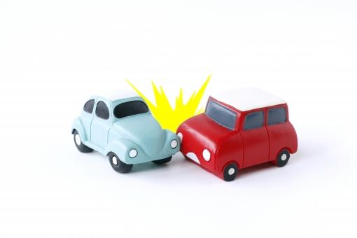 車どうしの衝突の写真