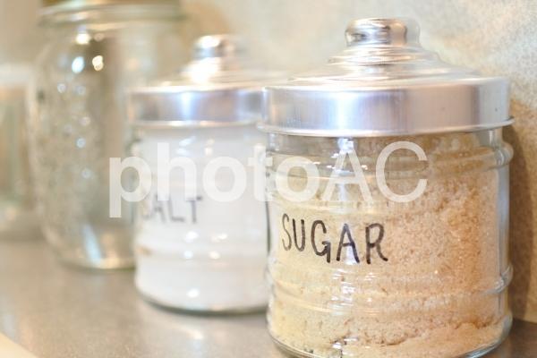 おしゃれな調味料入れ_砂糖メインの写真
