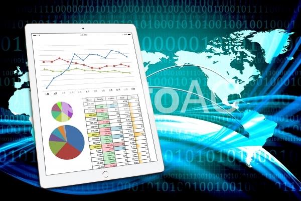 グローバルな分析とデータの写真