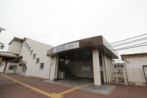 東伏見駅南口 東伏見駅 西武新宿線 早稲田大学 西武線 駅