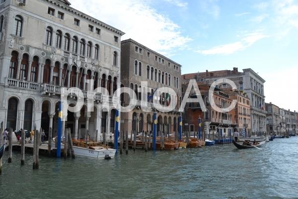 ヴェネチア 運河の写真