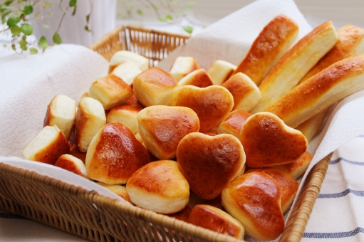 おやつパン 菓子パン 手作り おやつ パン キッチン オーブン 子供 スティックパン 小麦粉